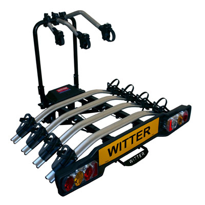 this type of carrier will only fit flange ball type towbars as there is a receiver plate mounted between the ball and the face plate of the ...  sc 1 st  Malcolmu0027s Towbar Services & Towbar mounted cycle carriers for carrying 2 3 or 4 bicycles ...