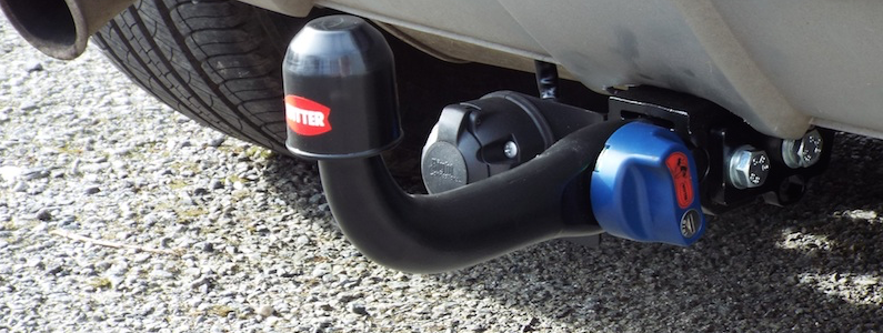 Navigate to the Towbar section of the website