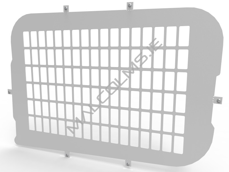 Van Accessories Window Grilles Blanks Available For Combo 2012
